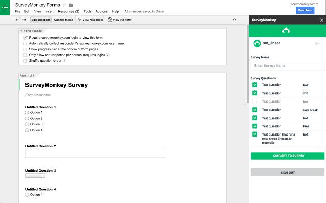 Survey Monkey Research Platform